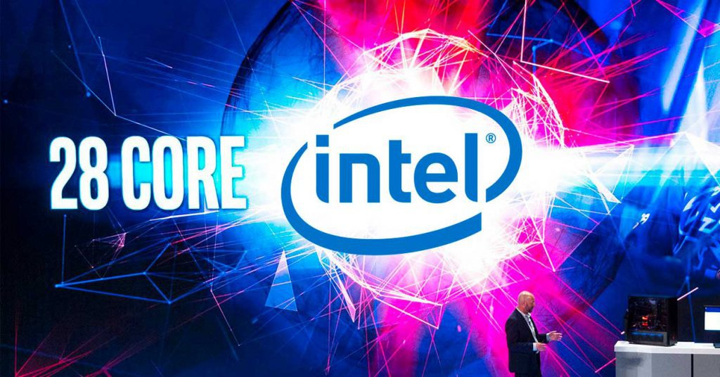 intel core 28 nucleos xeon modificado